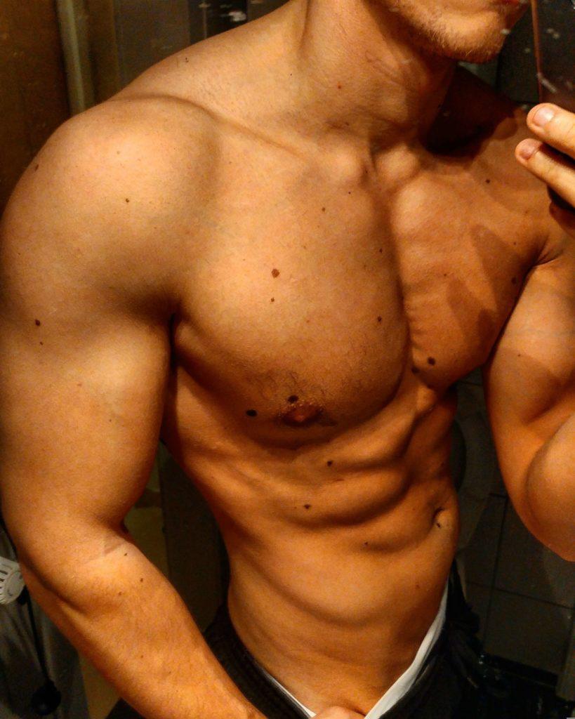 Ernährung für Muskelaufbau Body